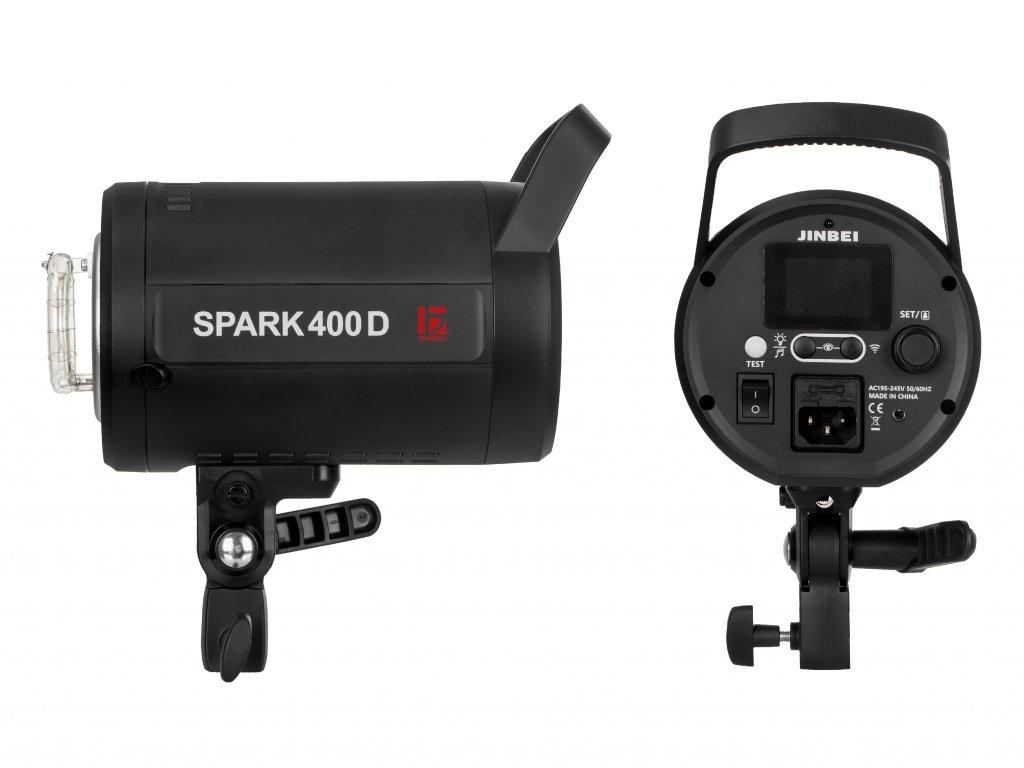 Digitálny štúdiový blesk SPARK 400D
