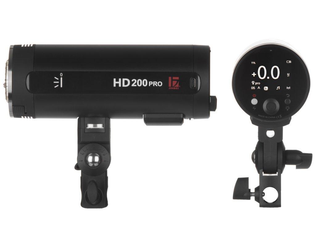 bateriovy blesk jinbei HD200