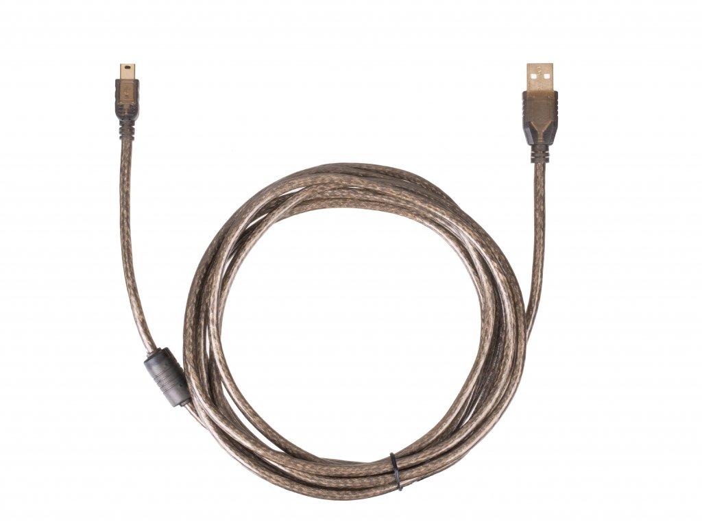 Dátový tetheringový kábel mini USB na USB 3.0 - 3m