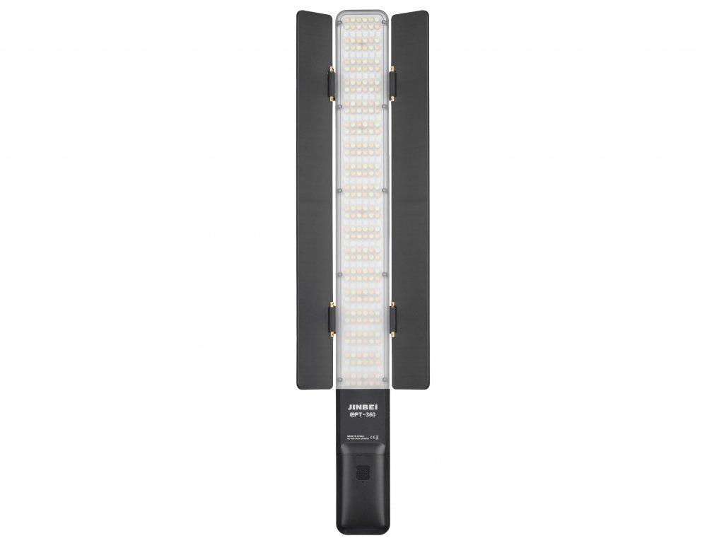 Hybridné LED trvalé svetlo Jinbei EFT 360, 2000 - 10000K, RGB