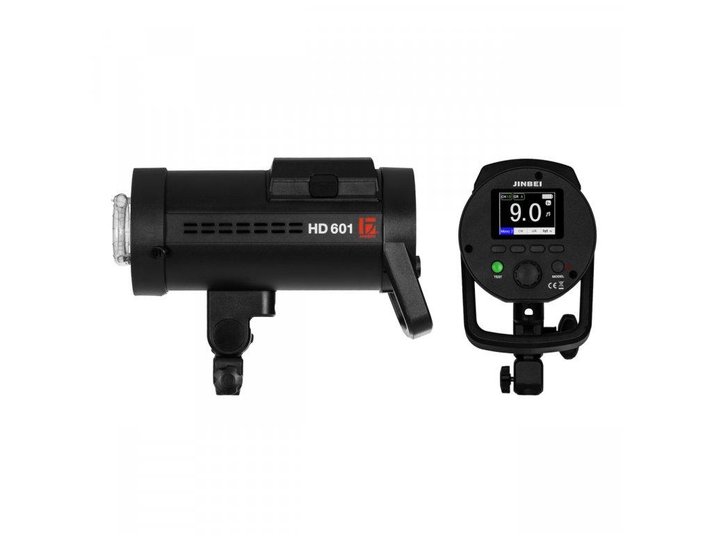 Digitálny batériový blesk HD 601 HSS - Sony, Canon, Nikon, Fuji, Olympus, Lumix + kufor