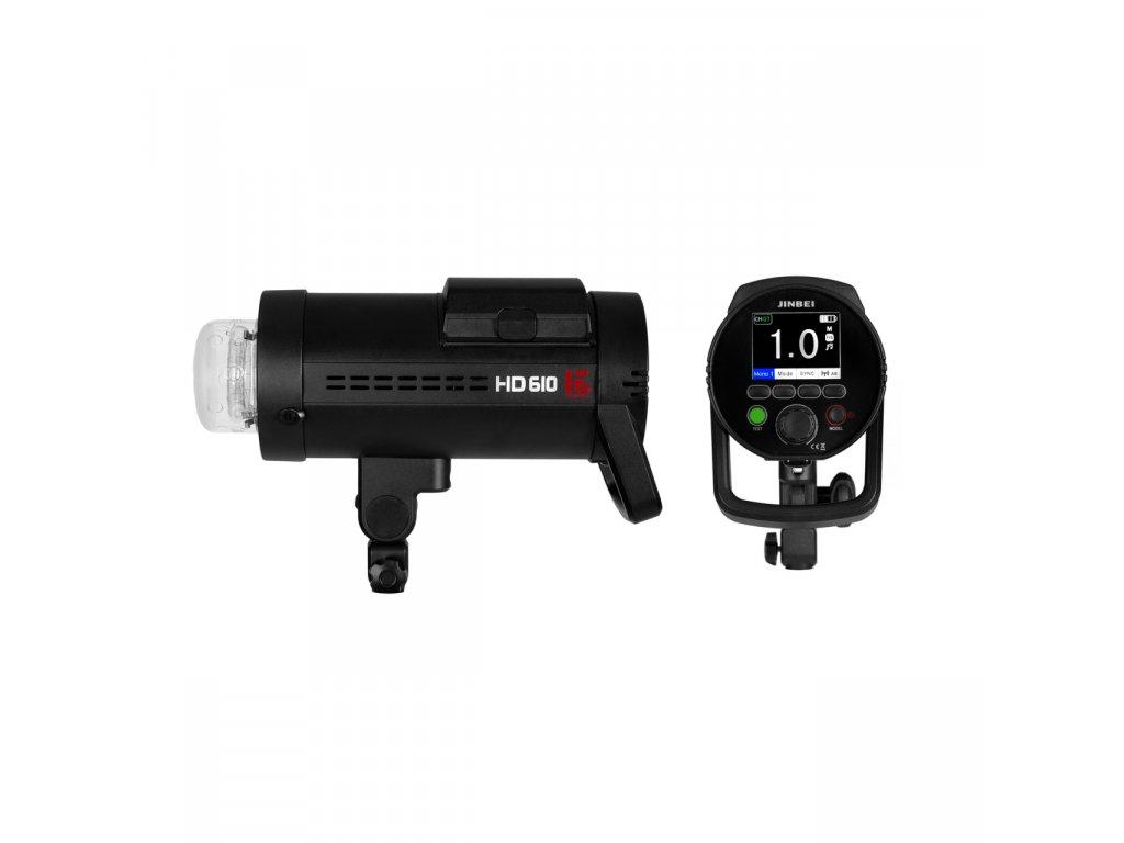 Digitálny batériový blesk HD 610 TTL, HSS - Sony, Canon, Nikon, Fuji, Olympus, Lumix + kufor
