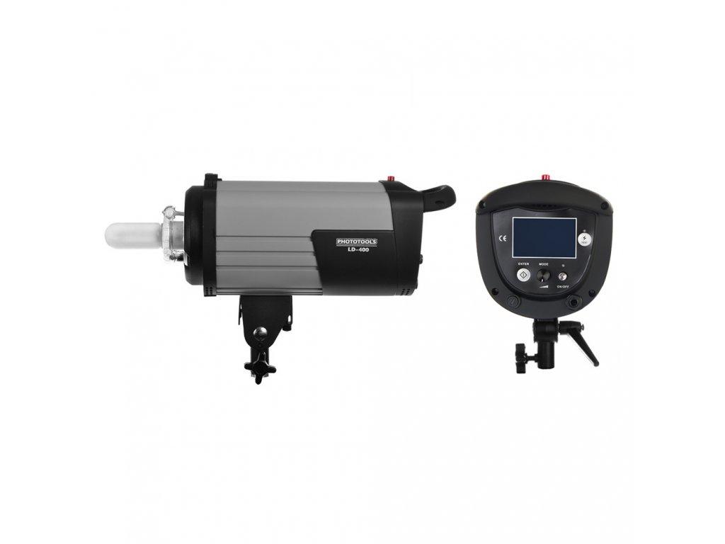Digitálny štúdiový blesk LD-400 Ws