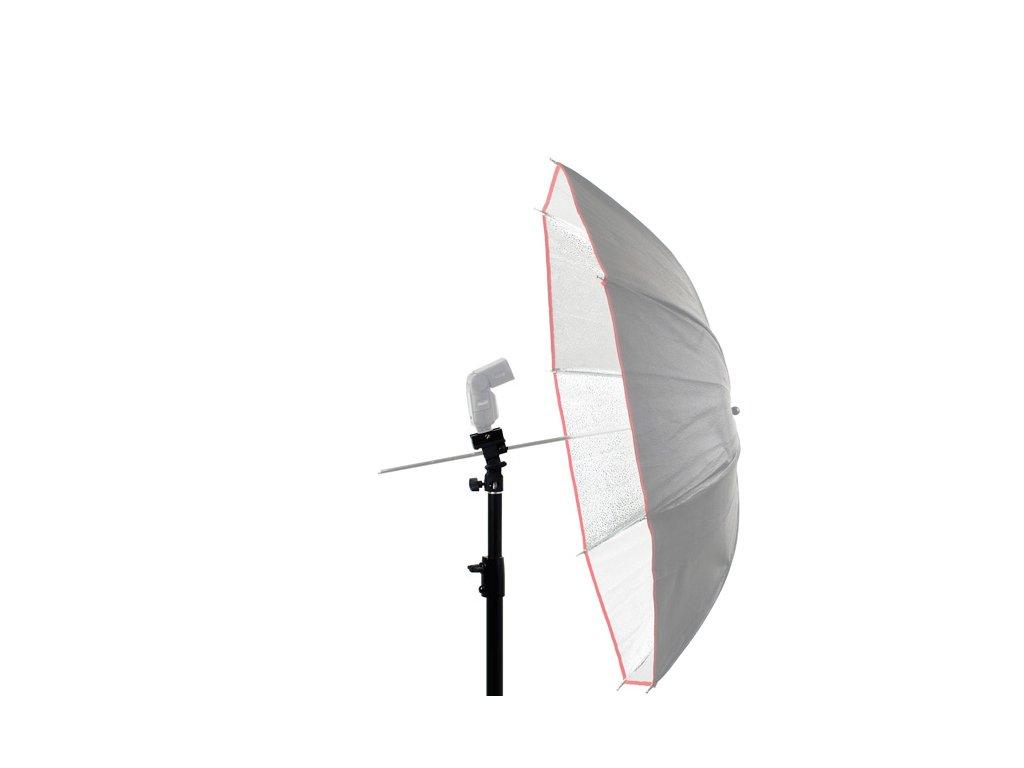 Držák externího blesku a deštníku + stativ 2,5m