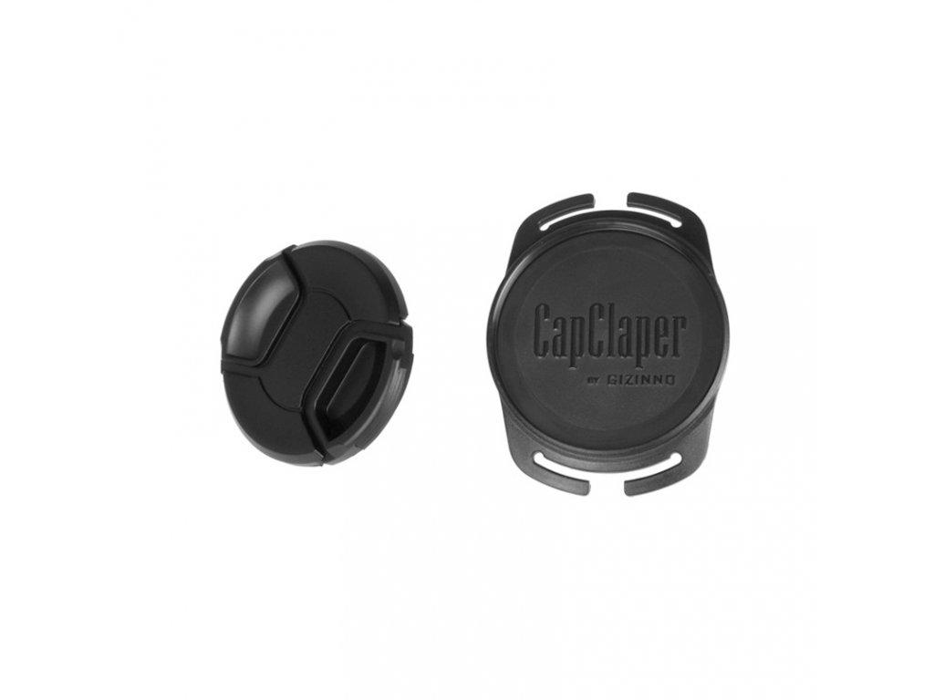 Držiak krytky objektívu, Gizinno CapClaper 52mm