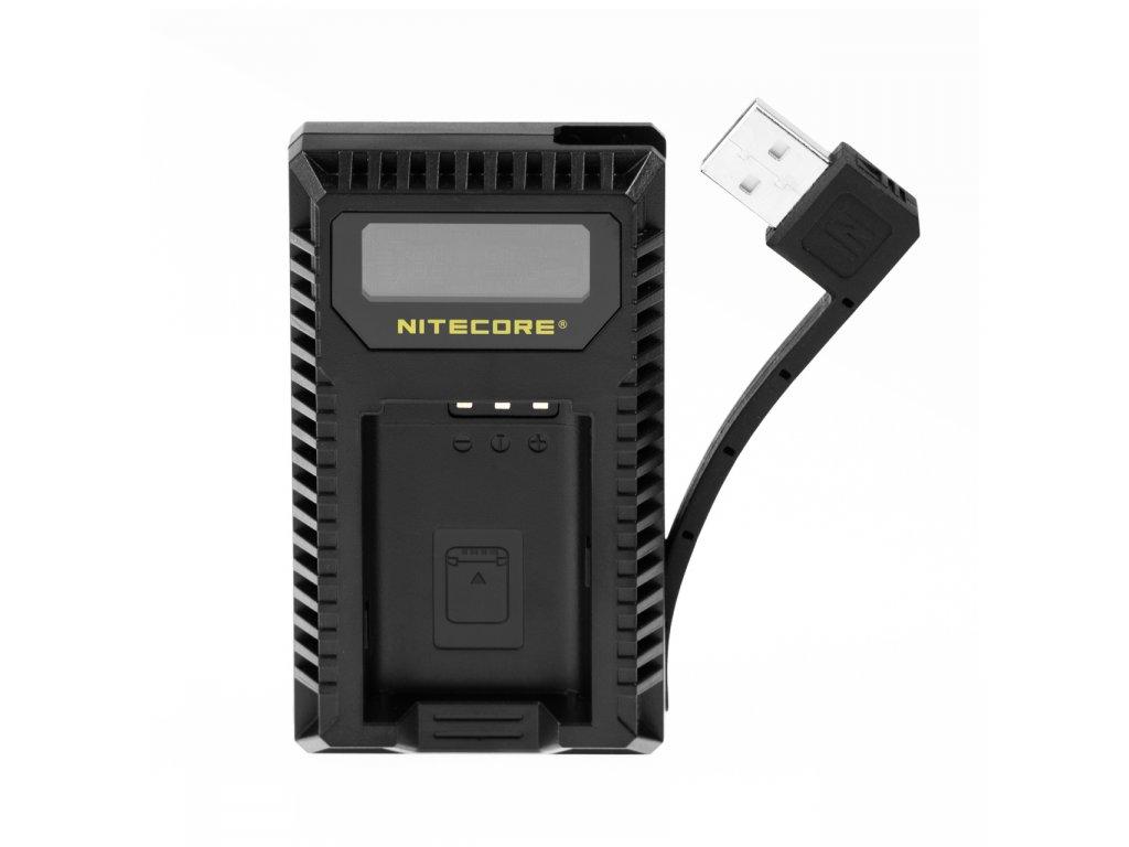 Duálna USB Nabíjačka batérií SONY Nitecore USN2 pre NP-BX1
