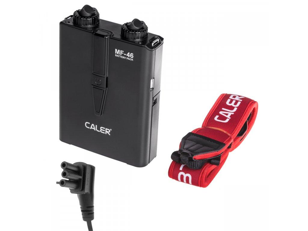 Externý batériový zdroj Caler MF-46 pre NIKON s USB
