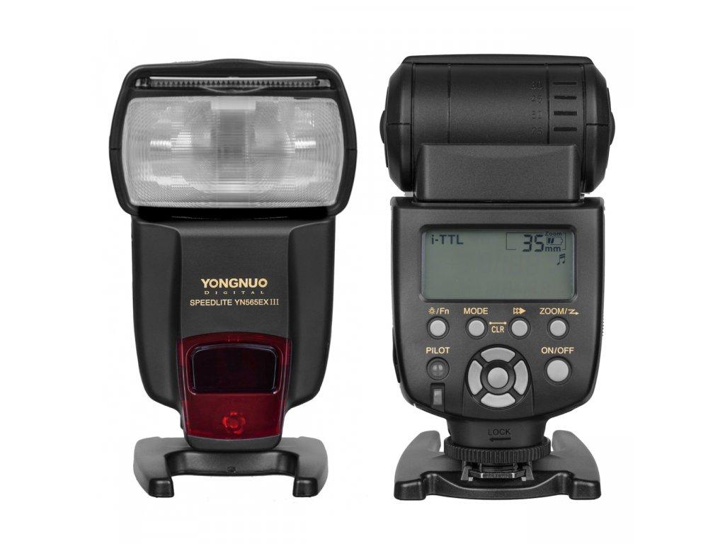 Externý blesk YONGNUO YN565EX-III Speedlite, GN58, TTL Nikon