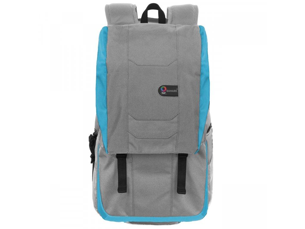 Fotografický batoh SAMARK 47x30x18cm, šedý