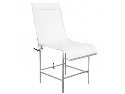 Fotografický stôl 60x130 cm - alumínium