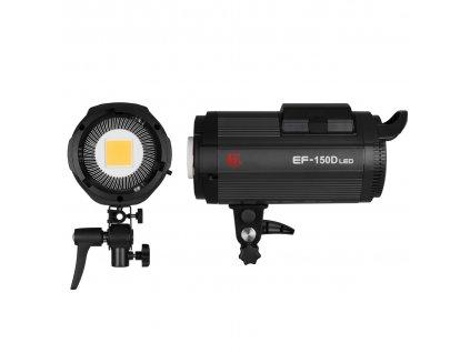 Hybridné LED trvalé svetlo EF 150D Sun Light, 5500K