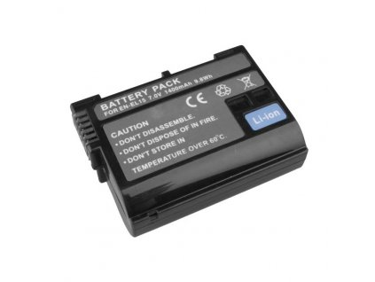 Nikon batéria Avacom EN-EL15 Li-ion 7.2V 1400mAh 9.8 Wh