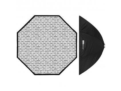 Octabox KS 150 cm dáždnikový s voštinou, adaptér Bowens
