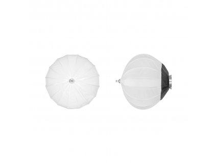 Balonový softbox DB 45 cm rýchlorozkládací, adaptér Bowens
