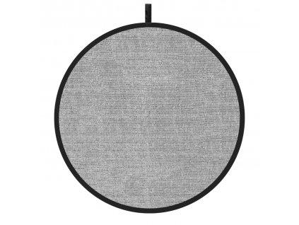 Odrazová doska - plocha 110cm, strieborná, perforovaná