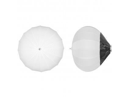 Balónový soft box DB 85 cm rýchlo rozkladací, adaptér Bowens