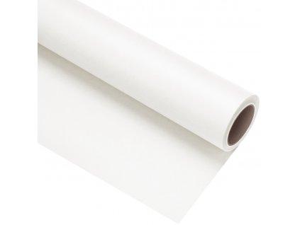 Papierové fotografické pozadie 1,35x11m - biele - polar white