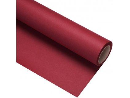 Papierové fotografické pozadie 1,35x11m - červené karmínové - crimson