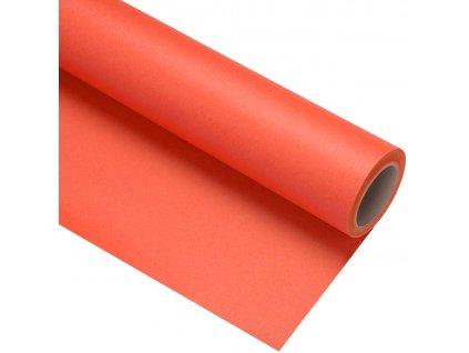 Papierové fotografické pozadie 1,35x11m - oranžové - mandarin