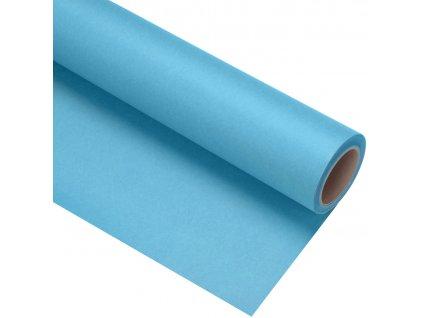 Papierové fotografické pozadie 1,35x11m - svetlo modré - aqua
