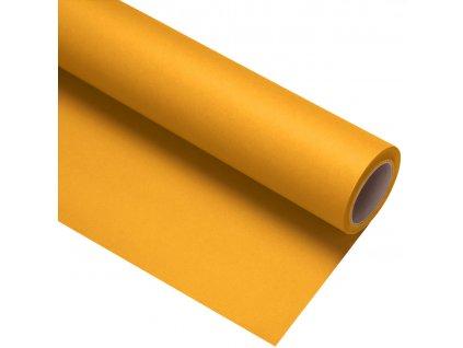 Papierové fotografické pozadie 1,35x11m - tmavo žlté - buttercup | forsythia