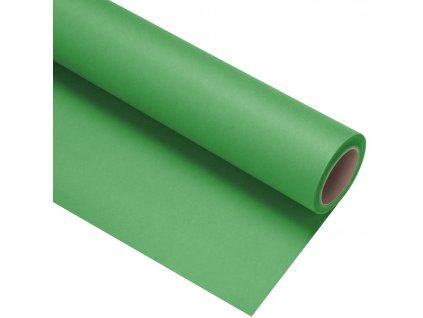 Papierové fotografické pozadie 1,35x11m - zelené - kľúčovacie - chromagreen | stinger