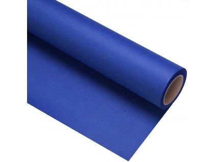 Papierové fotografické pozadie 2,72x11m - modré kľúčovacie - chromablue