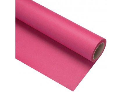 Papierové fotografické pozadie 2,72x11m - tmavo ružové - rose pink