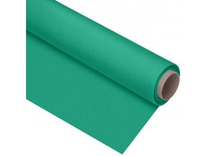 Polypropylenové fotografické pozadie zelené kkľúčovacie , 1,6 x 5m