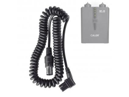 Prepojovací kábel Nikon - pre externý batériový zdroj Caler MF-46