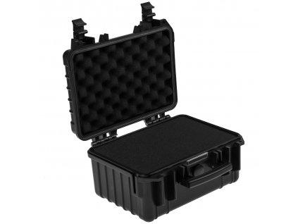 Prepravný kufor pre fotografické vybavenie 34x28x18 cm s nastaviteľnou výplňou