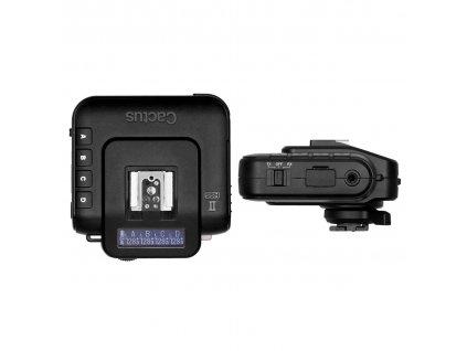 Rádiový odpalovač Cactus V6 II, HSS, TTL - Canon, Nikon, Fuji, Olympus, Panasonic, Pentax