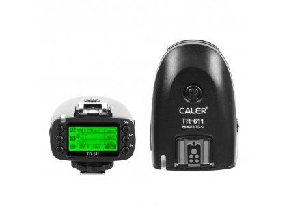 Rádiový odpaľovač TR-611 pre blesky HD-601 a HD-610 s podporou HSS a TTL Canon