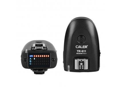 Rádiový prijímač s TTL a HSS pre odpalovač TR-611 s paticou pre Canon