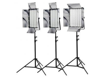 Sada troch trvalých svetiel 2x NG-220W a NG-330W, Phototools KIT18