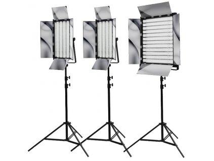Sada troch trvalých svetiel 2x NG-220W a NG-660A, Phototools KIT16