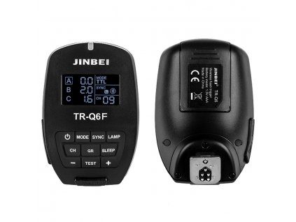 Smart odpalovač TR-Q6 Fujifilm TTL, HSS pre blesky SPARK, DPX, MSN, HD