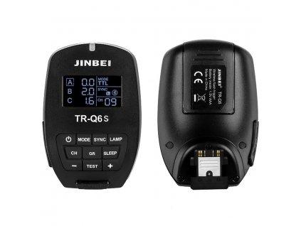 Smart odpalovač TR-Q6 Sony TTL, HSS pre blesky SPARK, DPX, MSN, HD