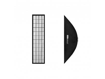 Stripbox LFH 30x120 cm s voštinou, adaptér Bowens
