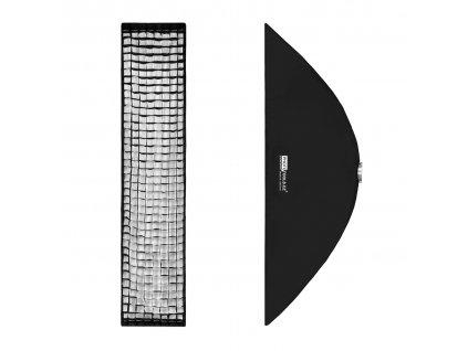 Stripbox LFH 35x160 cm s voštinou, adaptér Bowens