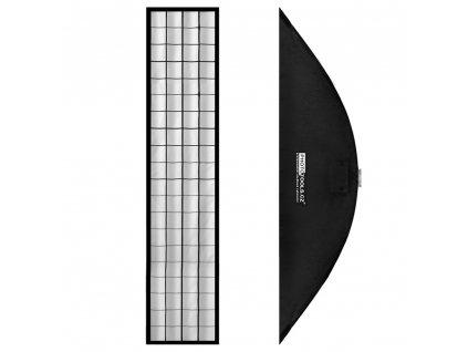 Stripbox LFH 40x200 cm s voštinou, adaptér Bowens