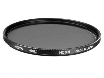Šedý neutrálny filter HOYA HMC NDx4 62mm