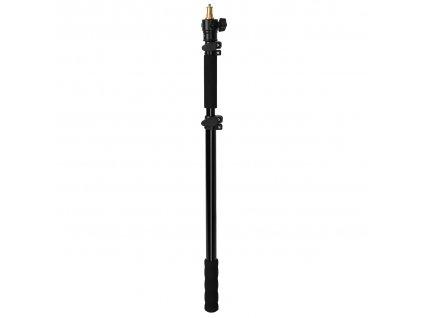 Teleskopický držiak - tyč pre blesky a svetlá 1,8 m