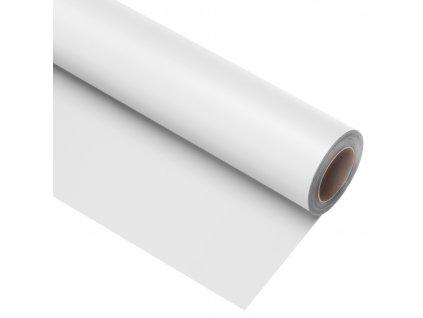 Vinylové fotografické pozadie 2,72x6m - biele