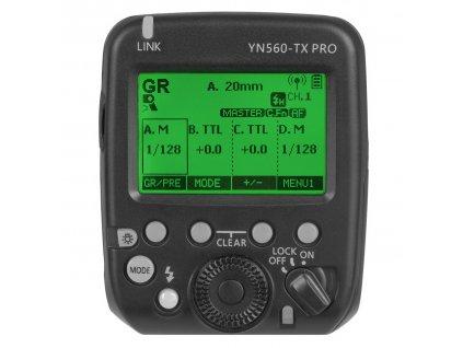 Bezdrôtová riadiaca jednotka pre blesky YONGNUO YN560-TX PRO pro Canon