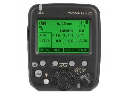 Bezdrôtová riadiaca jednotka pre blesky YONGNUO YN560-TX PRO pro Nikon