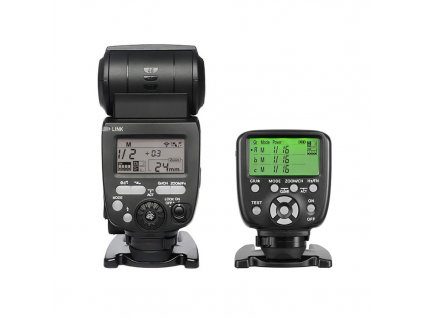 Externý systémový blesk YONGNUO YN660, GN66 + riadiaca jednotka YN-560-TX II Canon