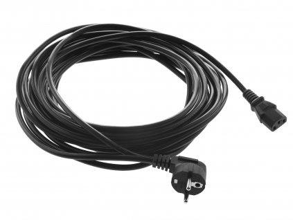 Napájací sieťový kábel 230V dĺžka 10 m