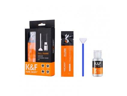 Sada na čistenie FULL FRAME senzoru K&F