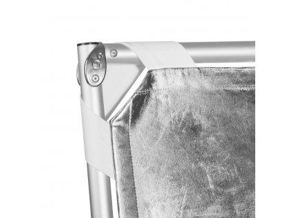 Difúzny odrazový panel s kovovou konštrukciou - 140x200cm - 3in1